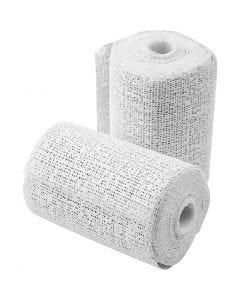 Plaster Bandage, L: 2,7 m, W: 7,5 cm, 2 roll/ 1 pack