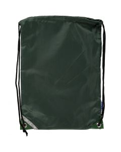 Drawstring bag, size 31x44 cm, green, 1 pc