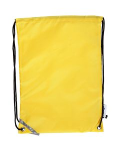 Drawstring bag, size 31x44 cm, yellow, 1 pc