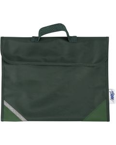 School Bag, size 36x29 cm, green, 1 pc