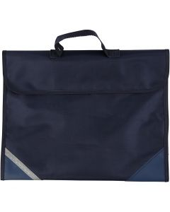 School Bag, size 36x29 cm, dark blue, 1 pc