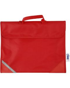 School Bag, size 36x29 cm, red, 1 pc