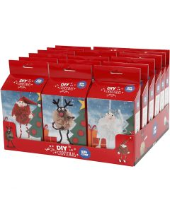 Funny Friends Christmas Set, 18 set/ 1 pack