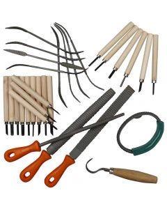 Soapstone Tool Set, 1 set