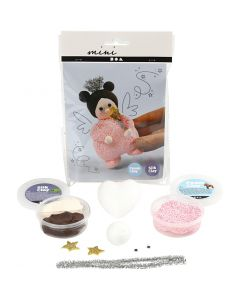 Mini Creative Kit, fairy with magic wand, 1 set