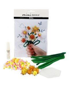 Mini Creative Kit, flowers, 1 set