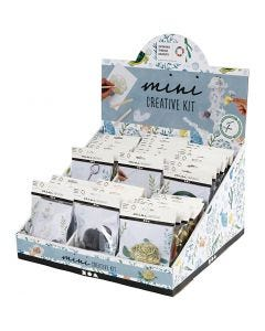 Table display with creative mini kits, 60 set/ 1 pack
