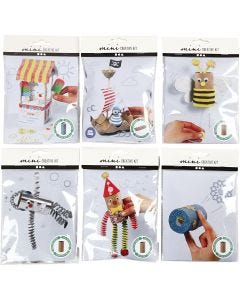 Creative mini kits, 6 set/ 1 pack
