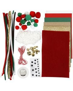 Crafting assortment, Christmas, 1 pack