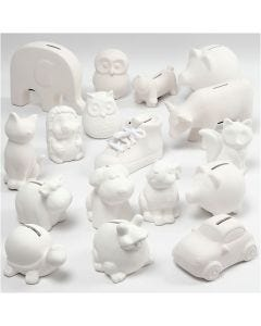 Money Boxes, white, 106 pc/ 1 box