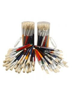 Kids Paint Brushes, W: 15 mm, 60 pc/ 1 pack