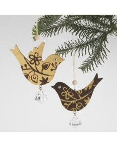 Decorative wooden Birds for hanging