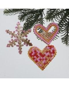 Christmas Decorations with Beads