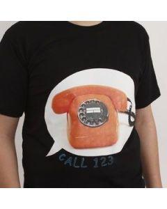 A Transfer Design on a T-Shirt