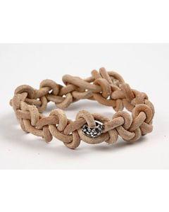 Bracelet with Chain Knots
