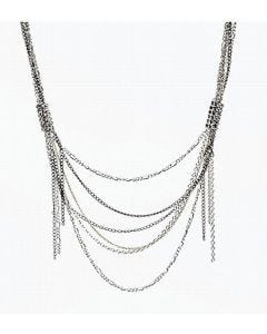 Necklace made from chains