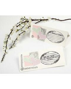 Make a Card with a stamped Design
