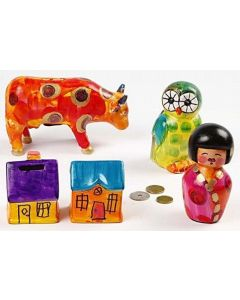 Money Boxes with A-Color Glass