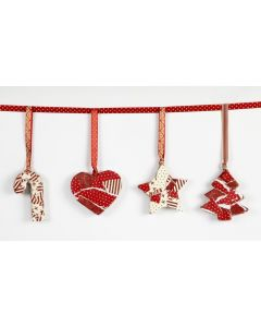 Christmas Ornaments with Decoupage