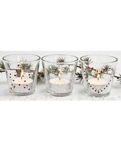 Candles for the Christmas Table