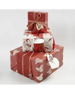 Beautiful Gift Wrapping in Vivi Gade Design