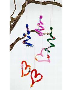 Pipe Cleaner Hanging Decorations