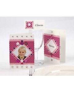 Pink Color Bar Cards
