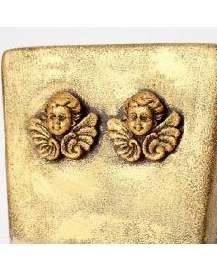 A Flower Pot with Inka-Gold Metal Gloss Wax