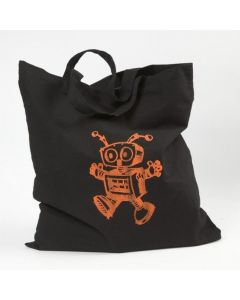 A Bag with Silk Printing