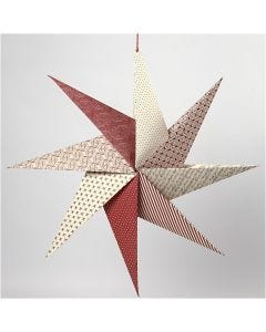 An Origami Star from Handmade Paper