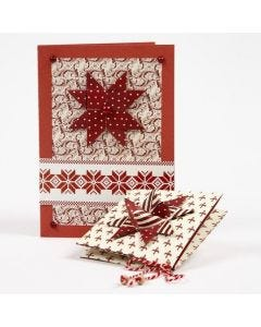 Christmas Cards made from Copenhagen Design Paper