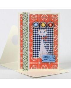 A Greeting Card with Vivi Gade Design Paper