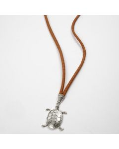 A Necklace with a Turtle