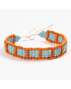 Jewellery School: A Bracelet woven on a Bead Loom