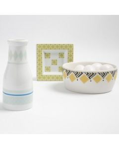 Masking Tape on Porcelain