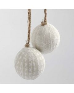 Baubles wrapped with Vivi Gade Design Fabric