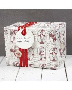 Gift Wrapping with Vivi Gade Design Paper (the Copenhagen Series)