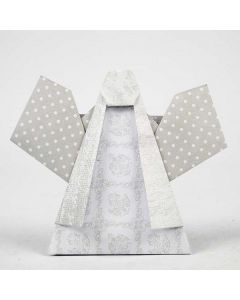 An Angel folded from Vivi Gade Design Paper