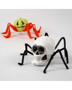 Creepy-Crawlies made from Papier-Mâché and Pipe Cleaners