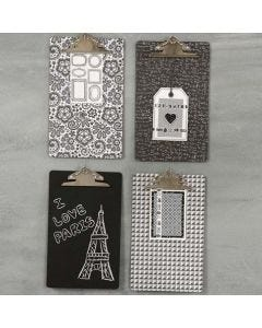 A decorated Clip Board