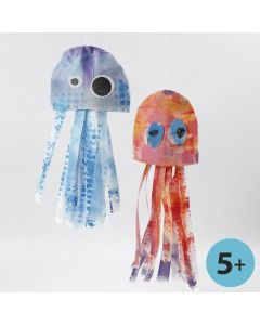 Jellyfish and Stinging Jellyfish made from Imitation Fabric
