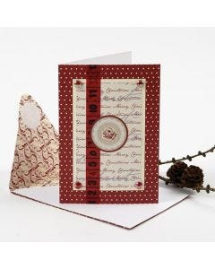 A Christmas Card with Vivi Gade Design Decorations