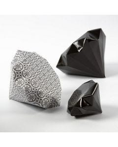 A Diamond folded from Vivi Gade Design Paper (Paris)