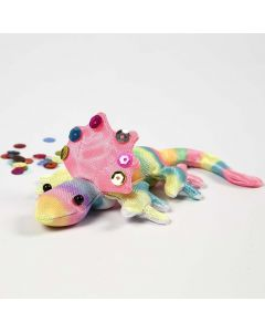 A Creepy-Crawly – decorated with Textile Markers
