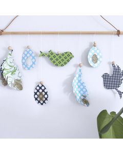 Cut-out Vivi Gade hanging Decorations for Spring and Easter