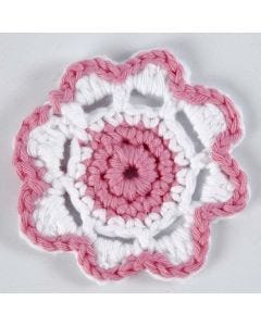 A crocheted Flower