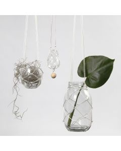 A Hanger made from knotted Cord
