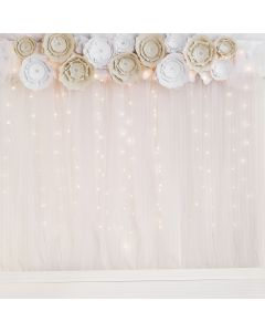 Flowers for Decoration and Backdrop for Party Photo Shoots