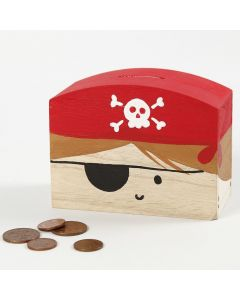 A Pirate Money Box