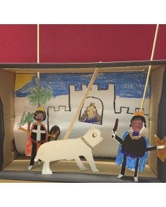 A Puppet Theatre in a Shoe Box